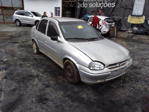 sucata corsa sedan gls 1.6 99 ar/direção p/ retirada de peça