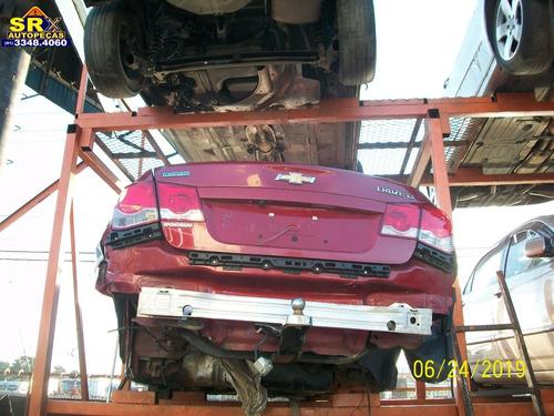 sucata cruze lt 1.8 16v flex power  aut 2013 motor peças