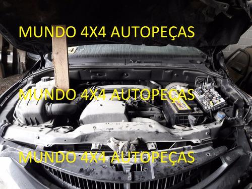 sucata da actyon a230 2.3 g. 2011 com motor e cambio e peças