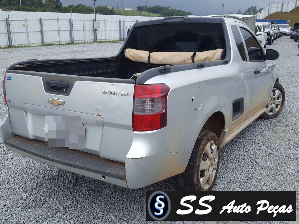 Sucata De Chevrolet Montana 2017 Somente Retirar Pecas R