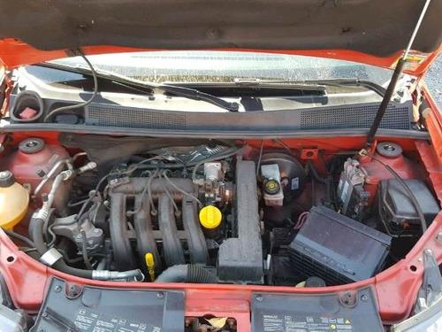 sucata de renault logan 2014 1.0 16v - motor câmbio peças
