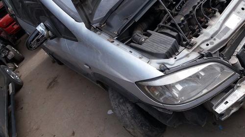 sucata de zafira 03 motor cambio 2.0 8v com baixa peças