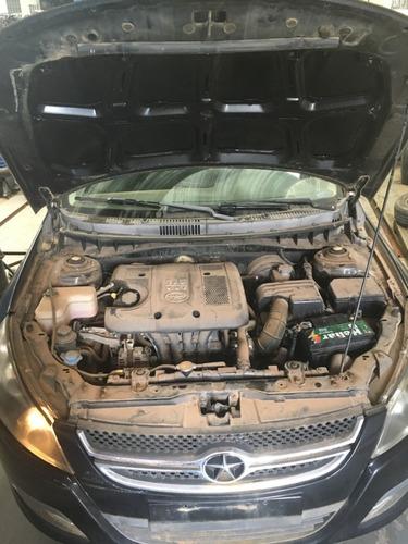 sucata desmontada - jac j5 1.5 16v gasolina 2012 2013