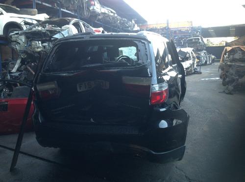 sucata dodge durango 2012/2013 gasolina - preta - 290 cvs