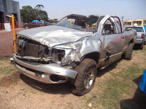 sucata dodge ram 5.9 diesel 2006 para retirada de peças