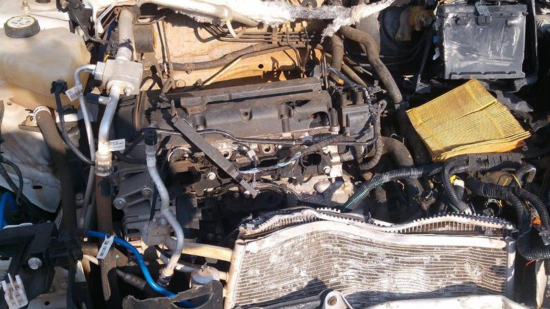 sucata ecosport p/ peças motor sigma 1.6 cambio manual porta