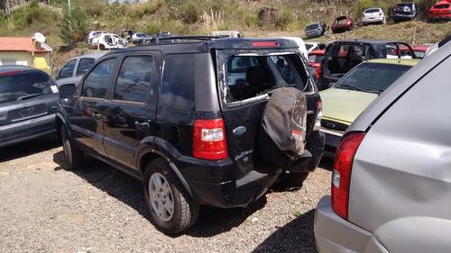 sucata ecosport xlt 1.6 gasolina 2005 - rs peças