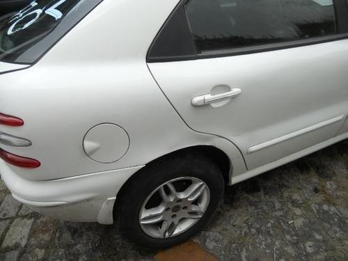 sucata fiat brava 1.6 16v rodas, bancos couro, motor, cambio