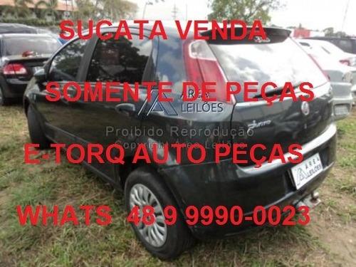 sucata fiat punto 1.4 2011 série itália completo
