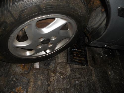sucata fiat tipo 1.6 ie rodas, motor, cambio, acabamentos