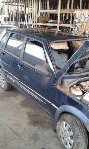 sucata fiat uno economy 2010 1.0 para retirada de peças