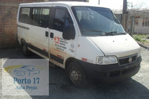 sucata fiat/ducato minibus 2.3  - diesel - 2012 - para peças