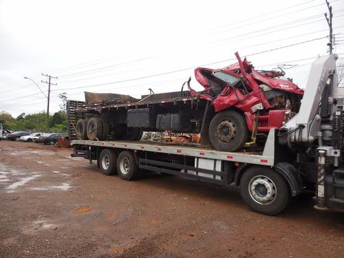 sucata ford cargo 2428 2011 275cv  para venda de peças usada