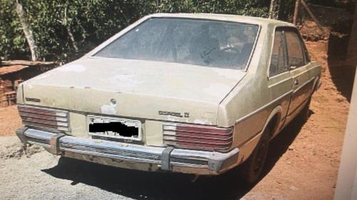 sucata ford corsel ii luxo 1984 retirada de peças