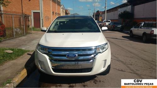 sucata ford edge 2012 289cv branco v6