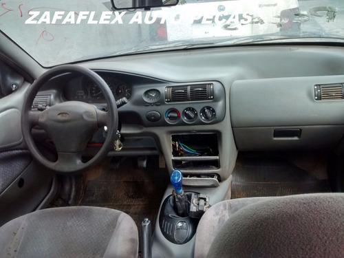 sucata ford escort 1.8 16v gl 1997  4 portas - somente peças