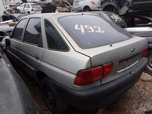 sucata ford escort gl 16v 1998 (somente peças)