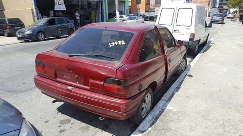 sucata ford escort motor câmbio  peças latarias sucata escor