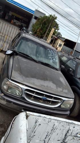 sucata ford explorer xlt 4x2 4.0 gasolina - desmanche sp