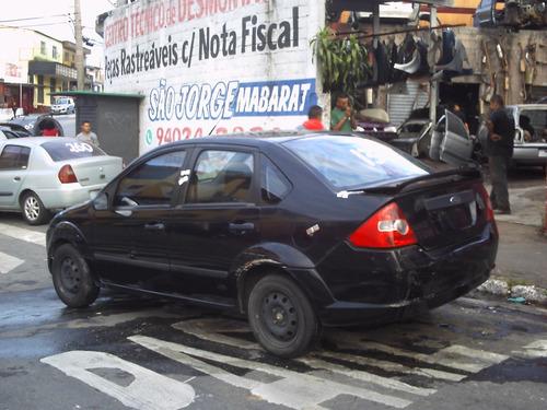 sucata ford fiesta sedan acessórios motor 1.6 caixa cambio