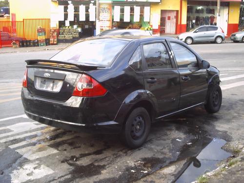 sucata ford fiesta sedan mecânica elétrica suspensão frente