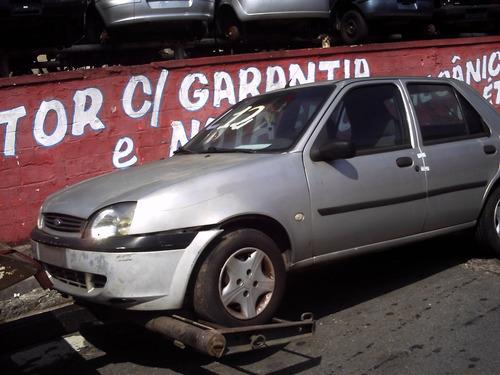 sucata ford fiesta street courrier motor suspensão tapeçaria