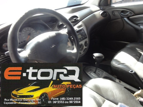 sucata ford focus sedam 2.0 16v 2004