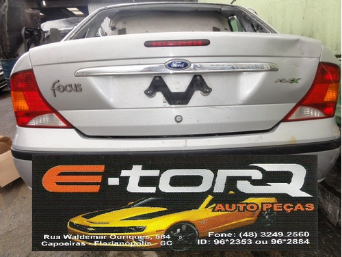 sucata ford focus sedan 1.6  2009
