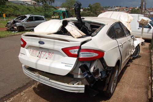 sucata ford fusion - para retirada de peças