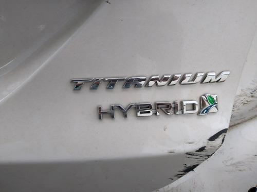 sucata ford fusion titanium  hybrid 2015 p/ peças