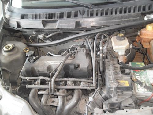 sucata ford ka rocam 1.0 04 gas. pra tirar peças motor cambi