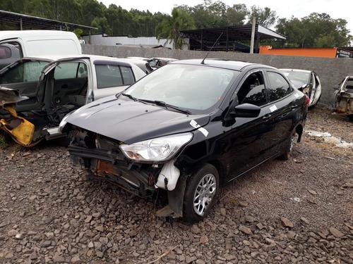 sucata ford ka sedan 2018 1.0 3cc rs peças farroupilha