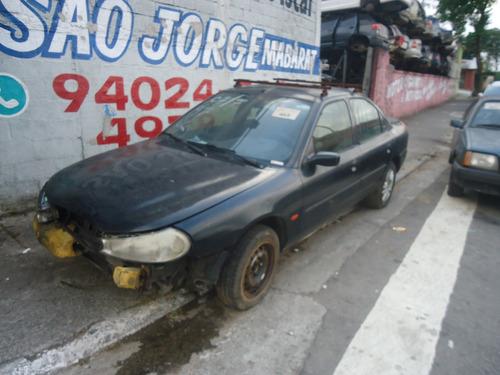 sucata ford mondeo motor zetec c/ nota cambio radiador roda