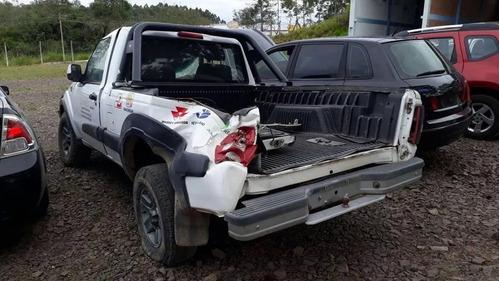sucata ford ranger 2.3 gasolina 2012 rs caí peças
