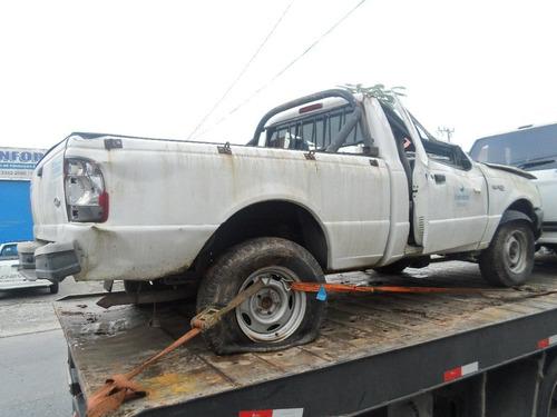 sucata ford ranger 2.8 diesel peças motor lataria cambio