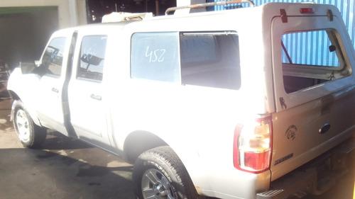 sucata ford ranger xlt 2.3 mec 2010 motor cambio acabamento