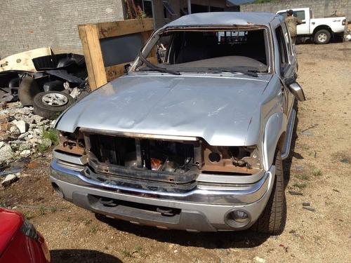 sucata ford ranger xlt 3.0 diesel pecas motor cambio lata