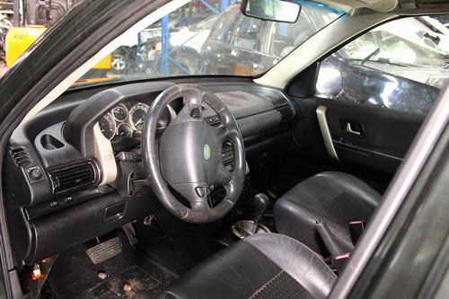sucata freelander 1 v6 2006 câmbio portas rodas mecânica