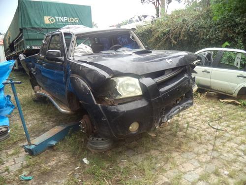 sucata frontier 2.8 diesel 4x2 2003 para venda de peças