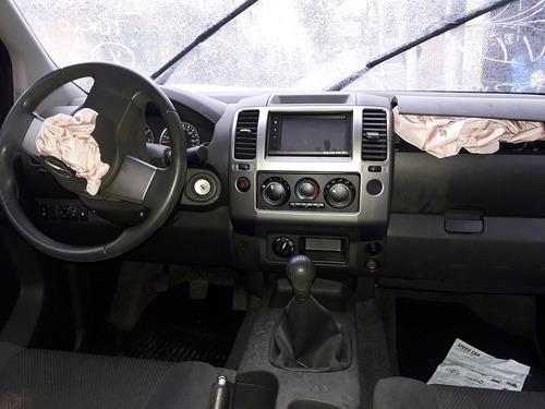 sucata frontier s cd 4x4 motor câmbio portas rodas bancos