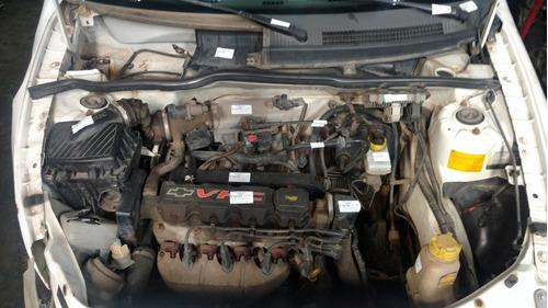 sucata gm celta 1.0 8v motor, cambio, suspensão e peças