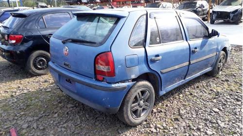 sucata gol g3 1.0 turbo 2001 gasolina - rs auto peças