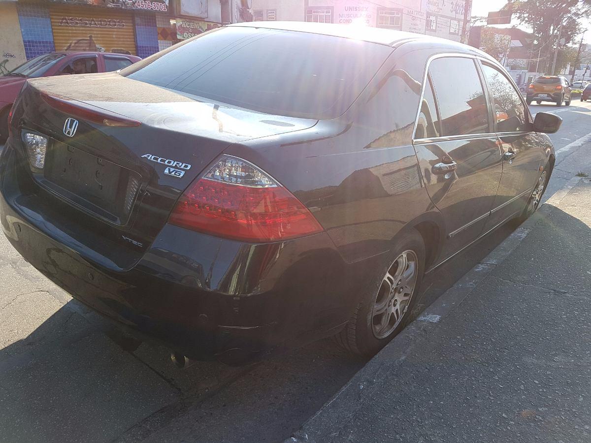 Sucata Honda Accord V6 2007 (somente Peças). Carregando Zoom.