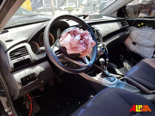 sucata honda city 1.5 16v manual 2012 flex