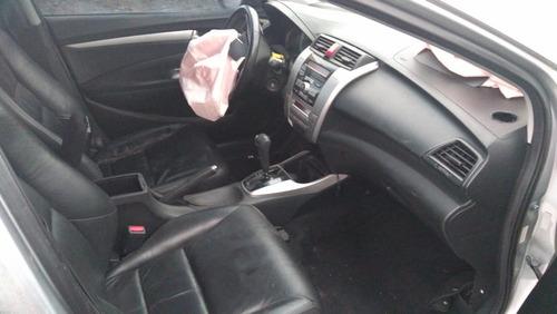 sucata honda city 2010 1.5 flex aut.- rs auto peças