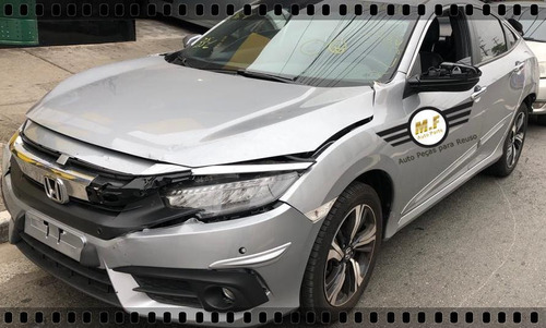 sucata honda civic 1.5 16v turbo touring 2018 motor cambio