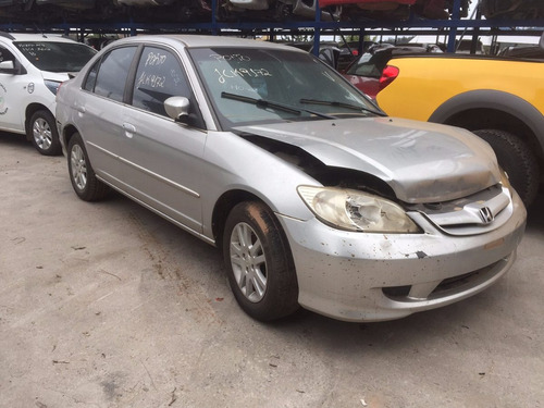 sucata honda civic 2004, import multipeças