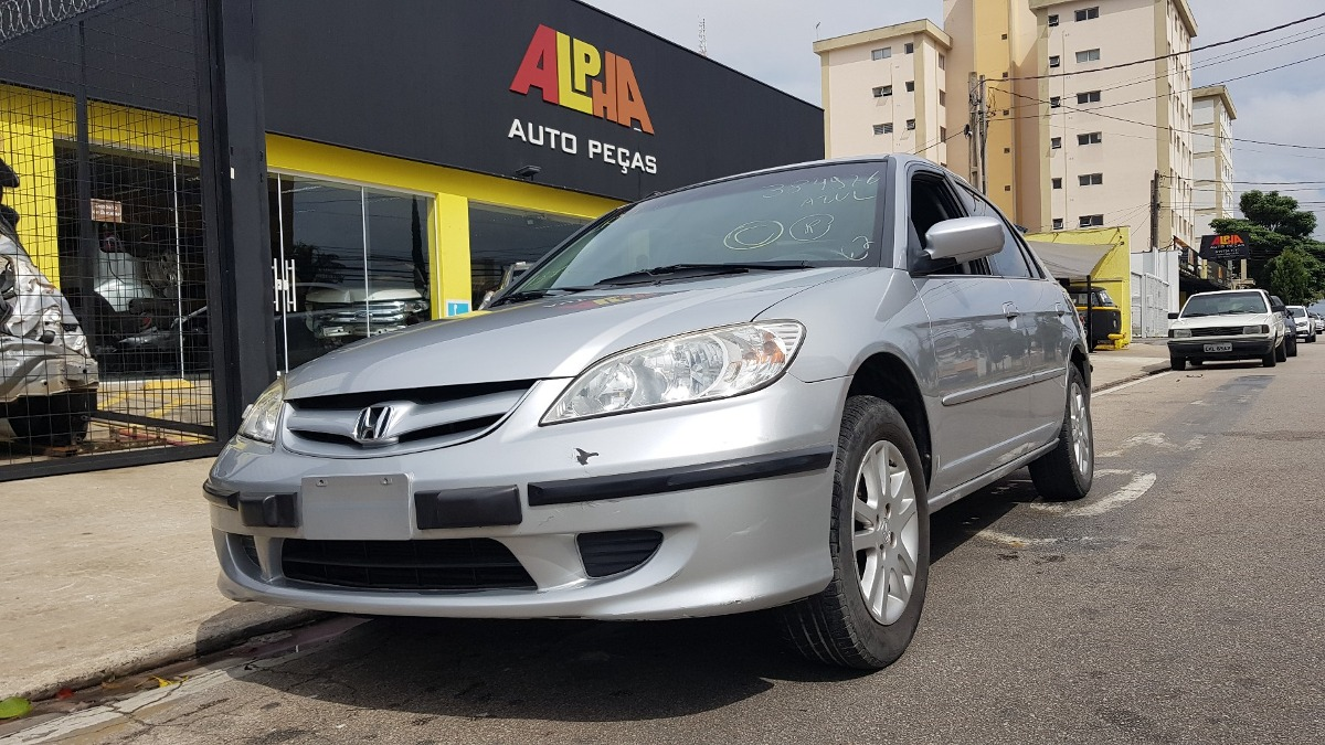 Sucata Honda Civic Lx 1.7 16v 2005 Manual. Carregando Zoom.