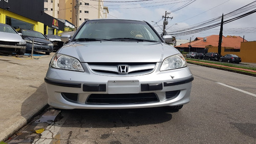 sucata honda civic lx 1.7 16v 2005 manual