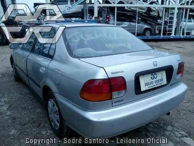 Awesome Sucata Honda Civic Lx 1998 Sucata , Motor, Cambio